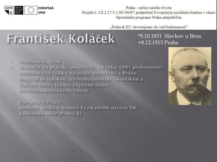 František Koláček