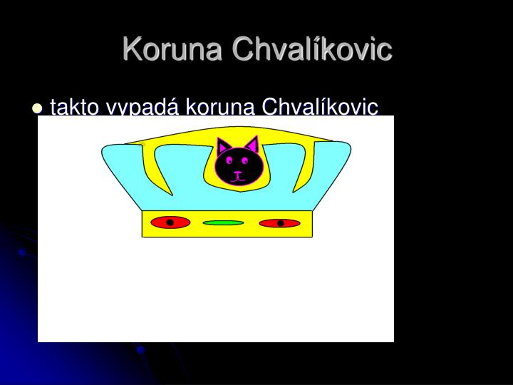 Koruna Chvalíkovic