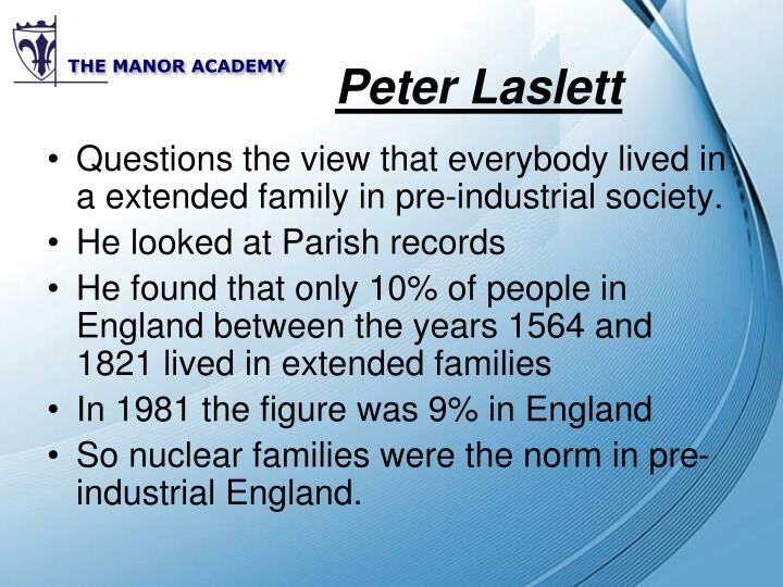 Peter Laslett
