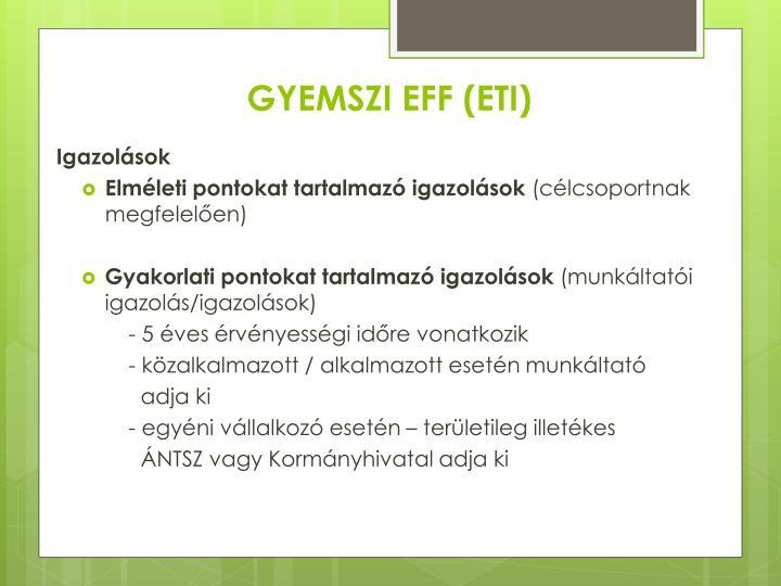 GYEMSZI EFF (ETI)