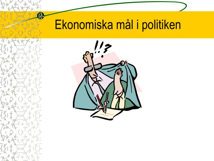 Ekonomiska mål i politiken