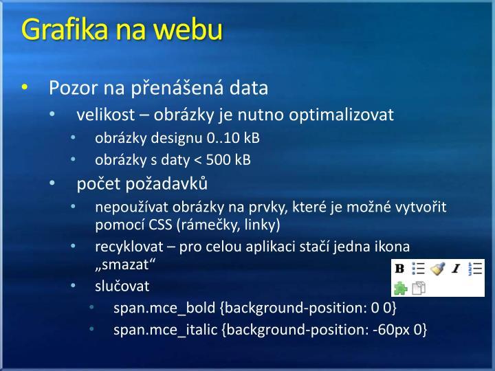 Grafika na webu