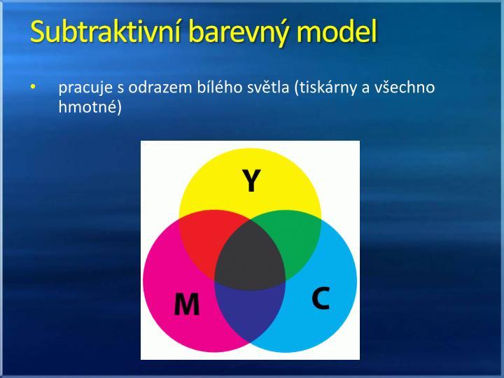 Subtraktivní barevný model
