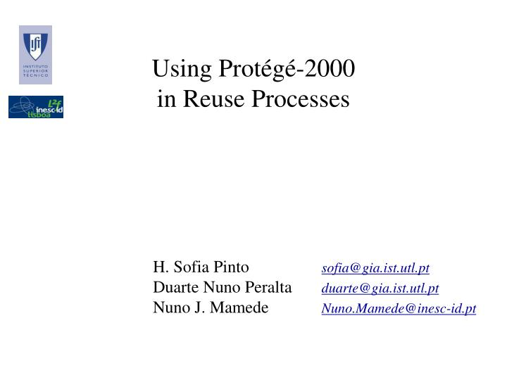 Using prot g 2000 in reuse processes
