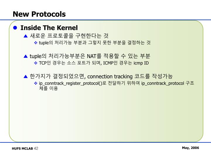 New Protocols