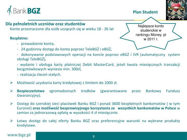 Plan Student