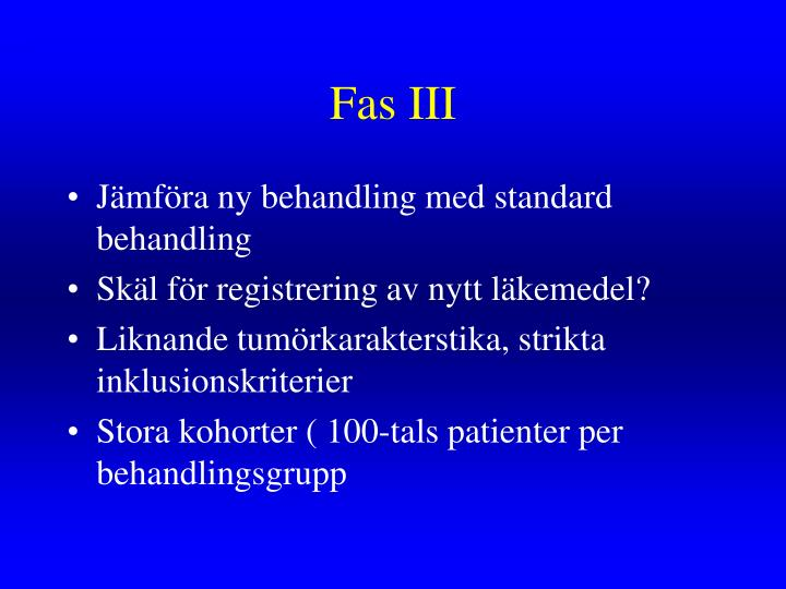 Fas III