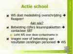 actie school