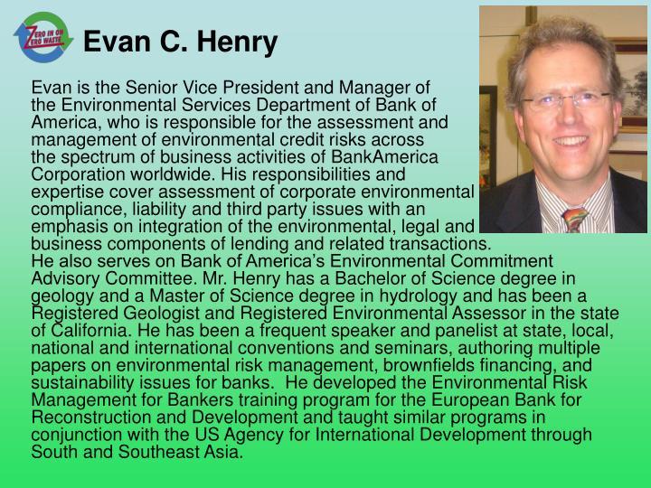 Evan C. Henry