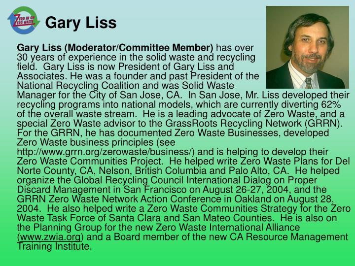 Gary Liss