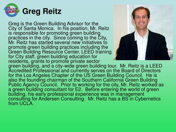 Greg Reitz