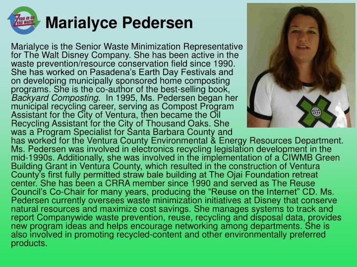 Marialyce Pedersen