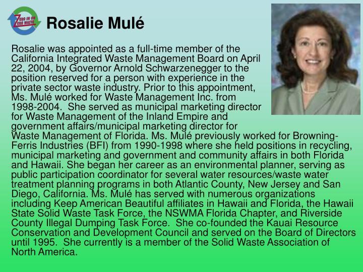 Rosalie Mulé