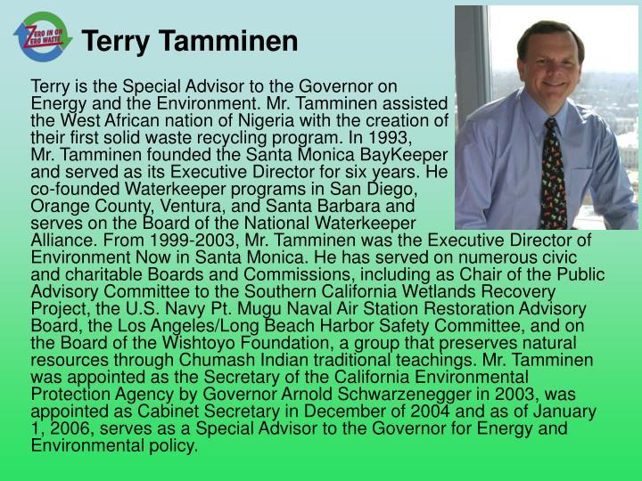 Terry Tamminen