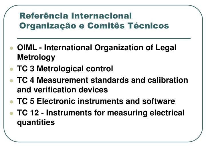 Referência Internacional