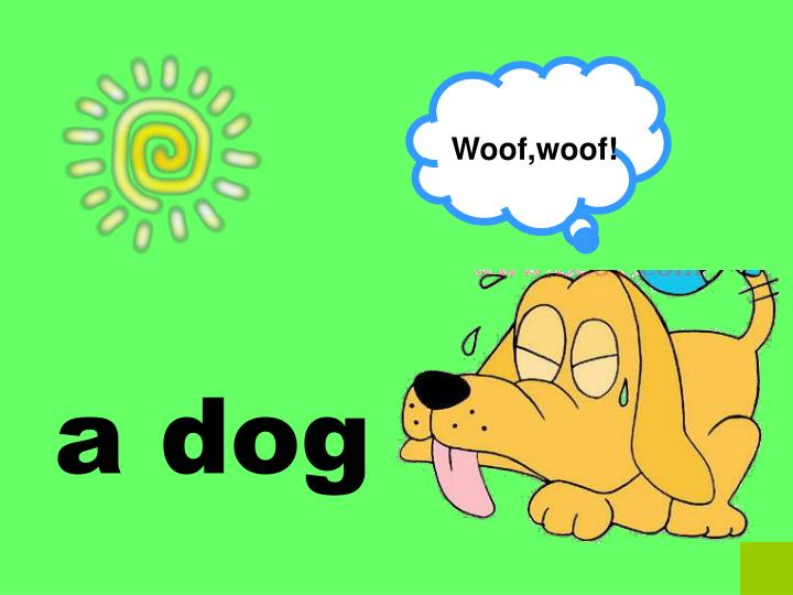Woof,woof!