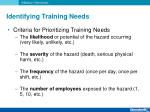 identifying training needs5