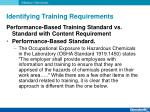 identifying training requirements5