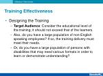 training effectiveness4