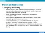training effectiveness6
