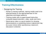 training effectiveness7