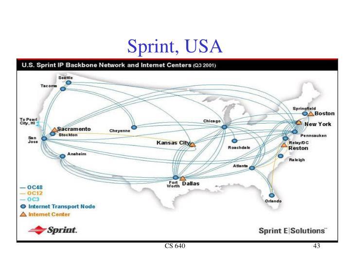 Sprint, USA