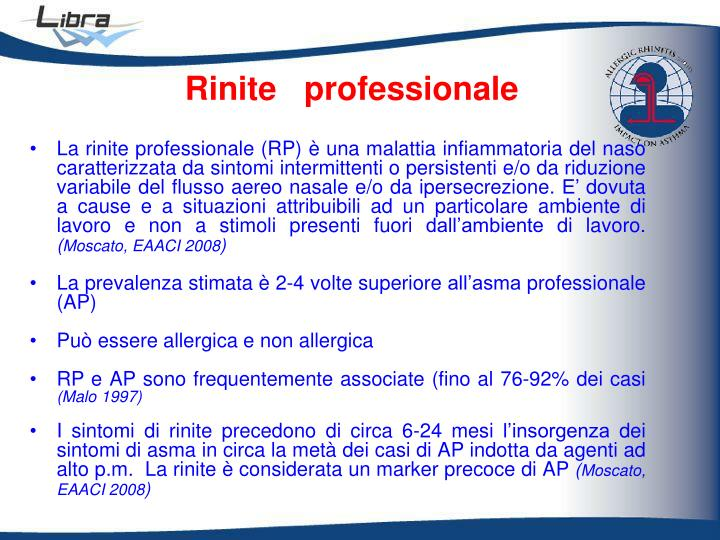 Rinite   professionale