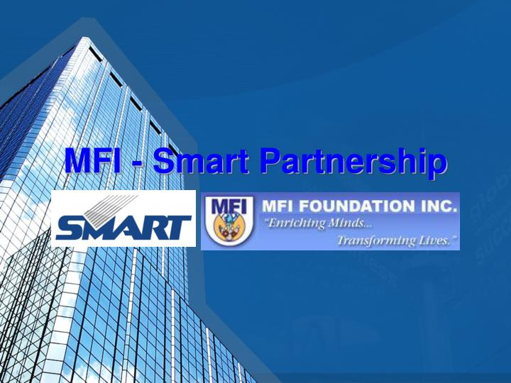 MFI - Smart Partnership