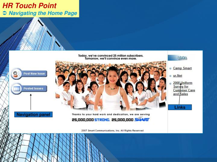 HR Touch Point