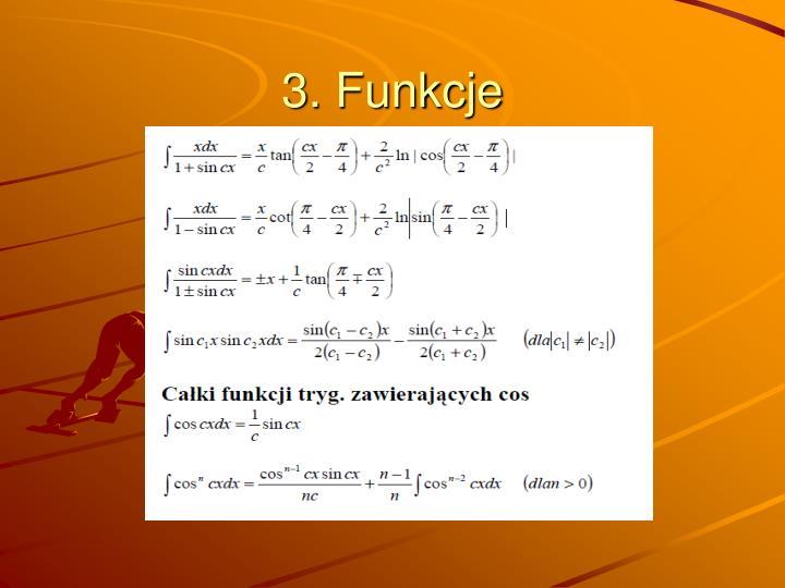 3. Funkcje