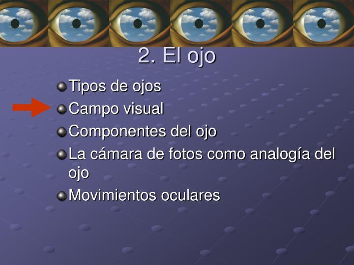 2. El ojo