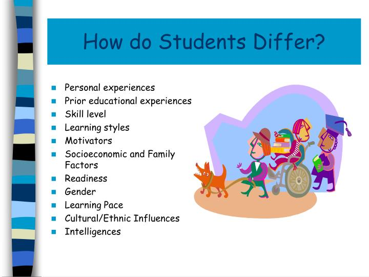 How do Students Differ?
