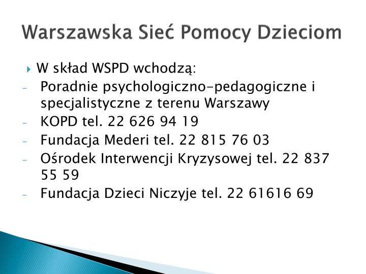 Warszawska Sie