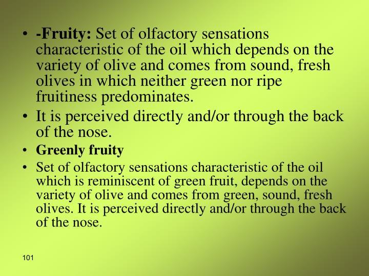 -Fruity: