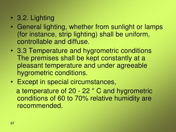3.2. Lighting