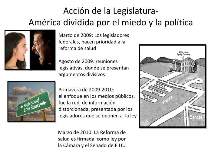 Acción de la Legislatura-