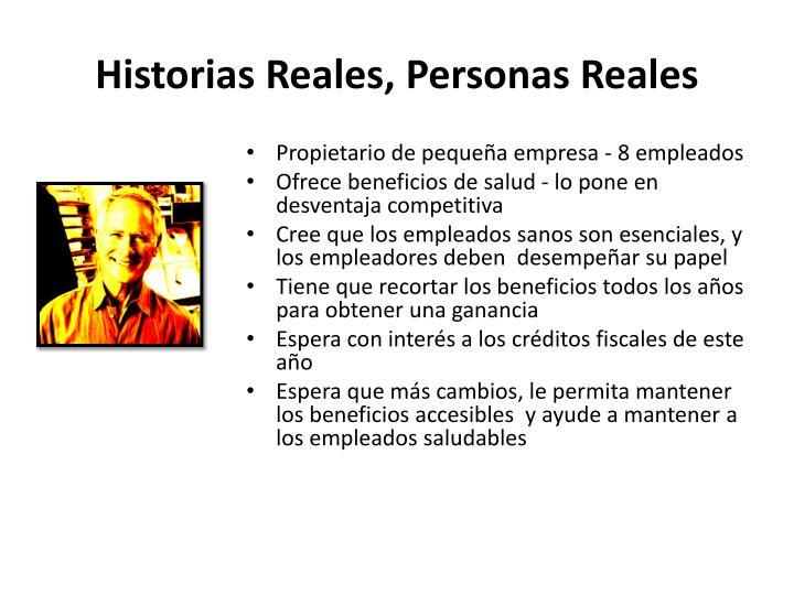 Historias Reales,