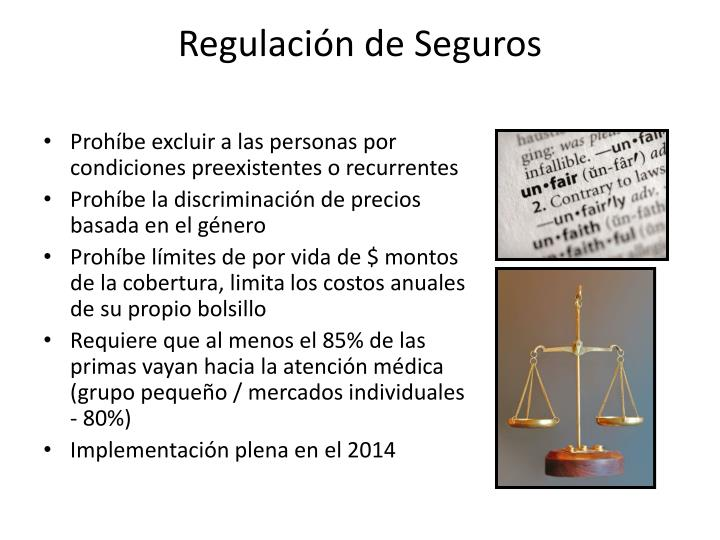 Regulación de