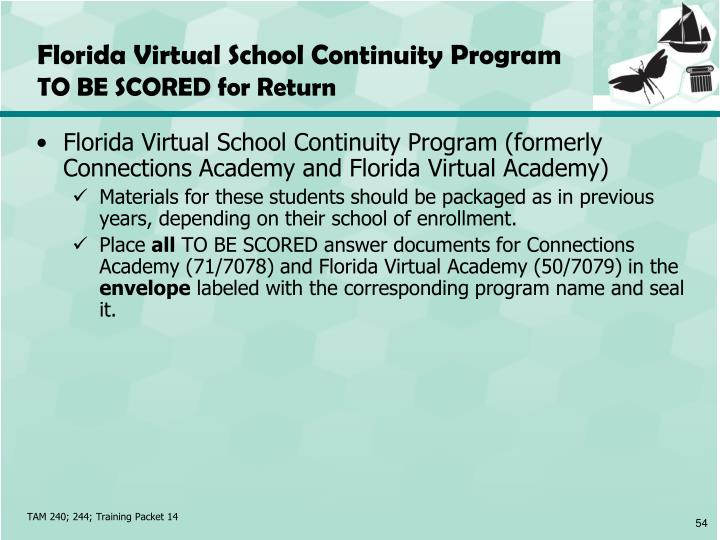 Florida Virtual School Continuity Program