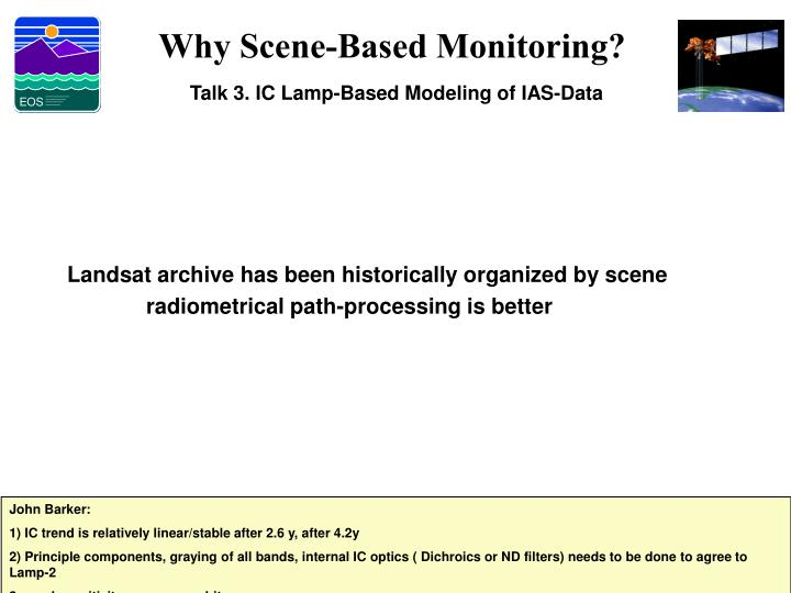 Why Scene-Based Monitoring?