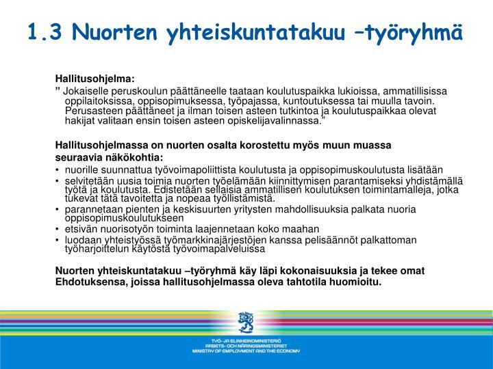 Hallitusohjelma: