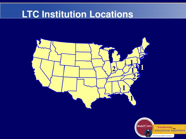 LTC Institution Locations