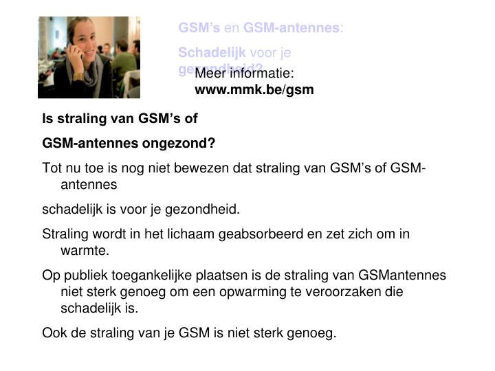 GSM's
