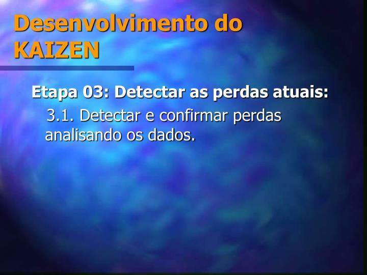 Desenvolvimento do KAIZEN