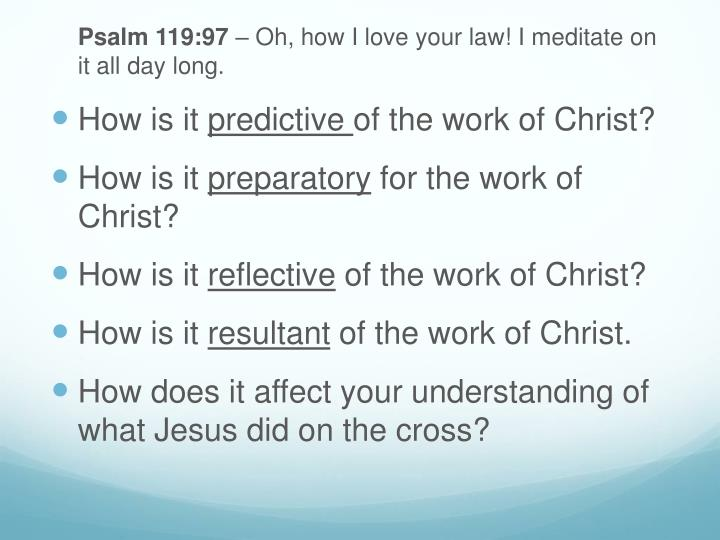 Meditation Questions to Find Christ
