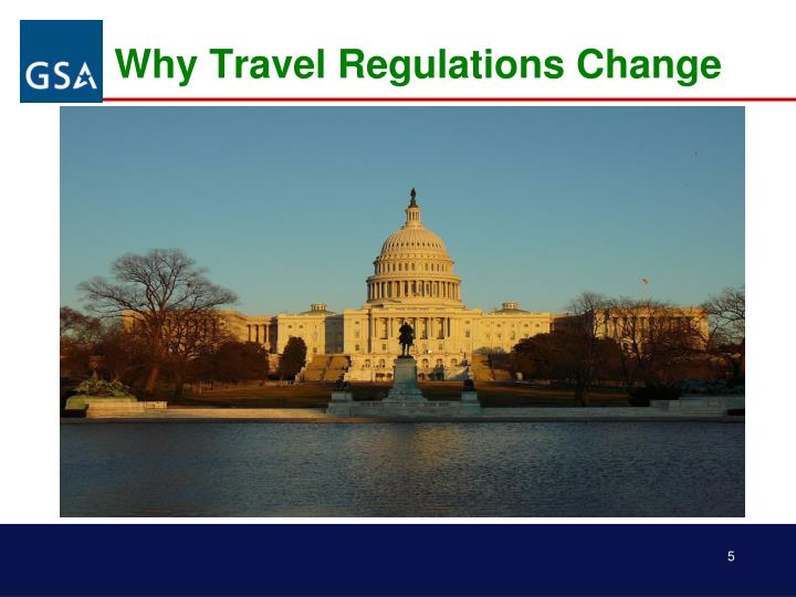 Why Travel Regulations Change