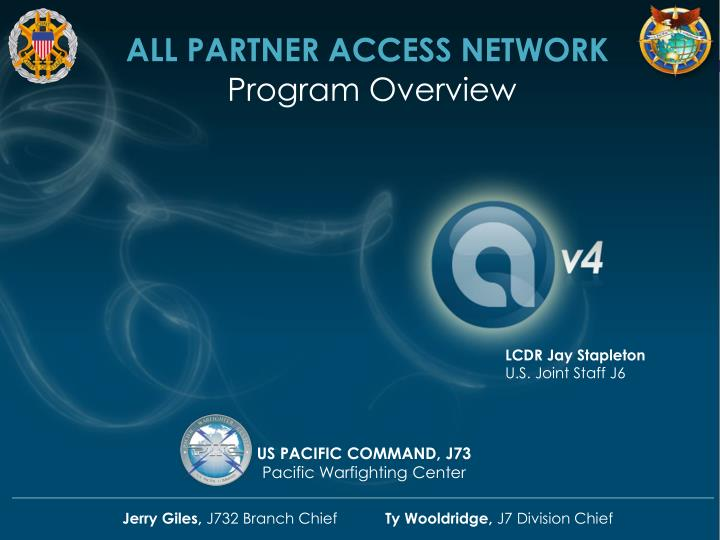ALL PARTNER ACCESS NETWORK