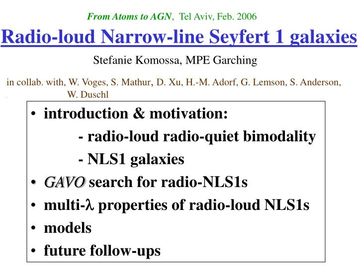 Radio loud narrow line seyfert 1 galaxies
