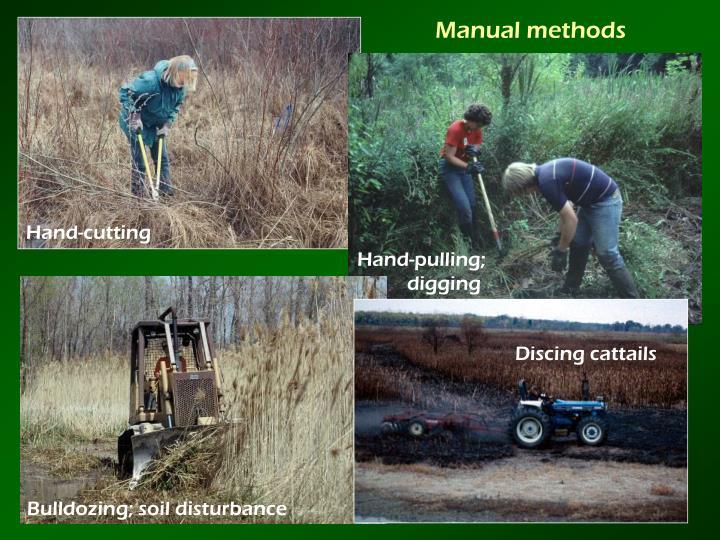 Manual methods