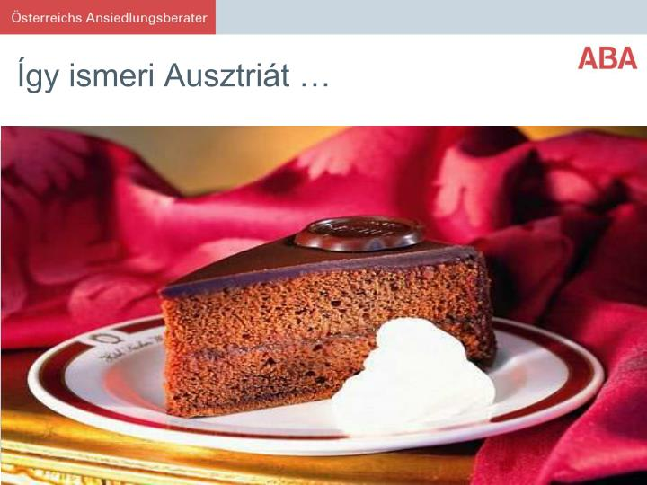 Így ismeri Ausztriát …